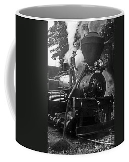 Coffee Mug featuring the photograph Clearing The Stack by ELDavis Photography