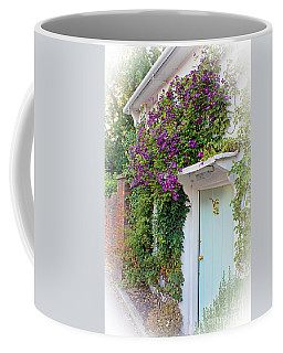 Clematis Around The Door Coffee Mug