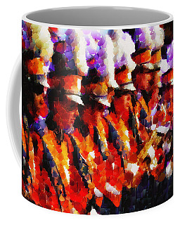 Clemson Tiger Band - Afremov-style Coffee Mug