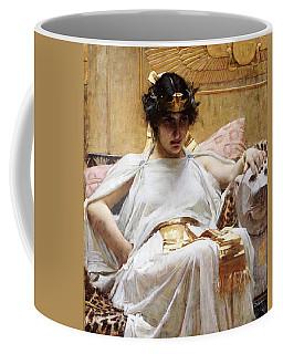 Cleopatra, C.1887 Oil On Canvas Coffee Mug
