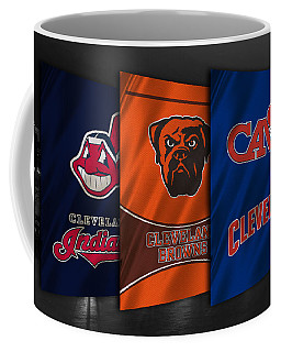 Cleveland Sports Teams Coffee Mug