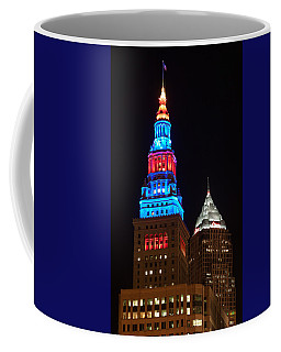Cleveland Towers Coffee Mug by Dale Kincaid