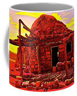 Cliff Dwellers In Red Coffee Mug