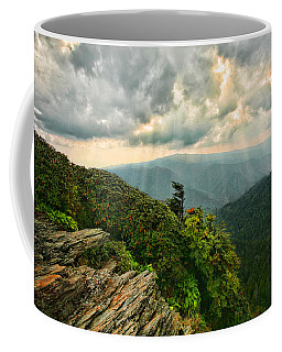 Cliff Tops At Mt. Leconte Gsmnp Coffee Mug