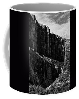 Cliffs In Contrast Coffee Mug
