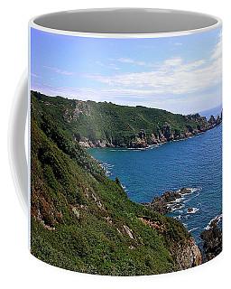 Cliffs On Isle Of Guernsey Coffee Mug