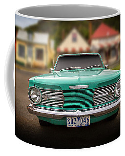 Cliff's Valiant Coffee Mug by Keith Hawley