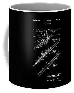 Climber For Skis 1939 Russell Patent Art Coffee Mug