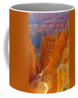 climbing out of the Canyon Coffee Mug