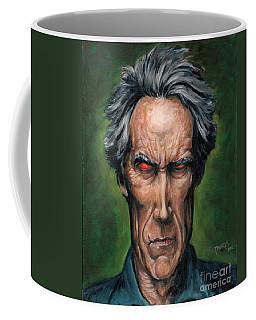 Clint Eastwood Coffee Mug by Mark Tavares