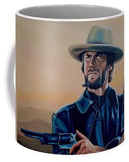 Clint Eastwood Painting Coffee Mug