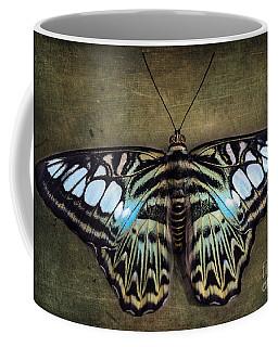Clipper Butterfly Coffee Mug by Tamara Becker