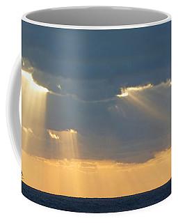 Clipper On The Ocean Coffee Mug