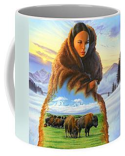 Cloak Of Visions Buffalo Coffee Mug