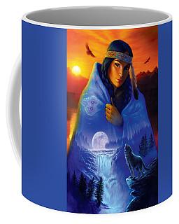 Cloak Of Visions Portrait Coffee Mug