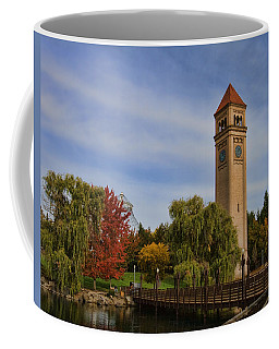 Clocktower Fall Colors Coffee Mug
