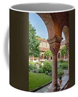 Cloisters Courtyard Coffee Mug