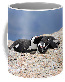 Close Bonds, African Penguin Coffee Mug