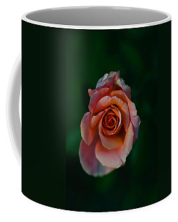 Close-up Of A Pink Rose, Beverly Hills Coffee Mug