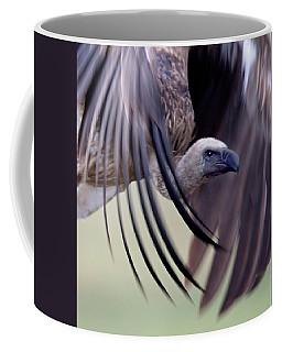 Close-up Of A White-backed Vulture Coffee Mug