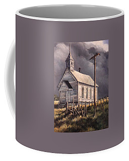 Closed On Sundays Coffee Mug by Donna Tucker