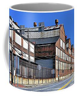 Closed Steel Mill Coffee Mug