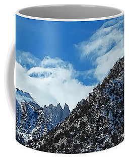 Coffee Mug featuring the photograph Closed To Through Traffic  - Mount Whitney by Glenn McCarthy