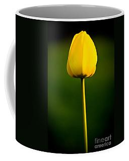 Closed Yellow Flower Coffee Mug