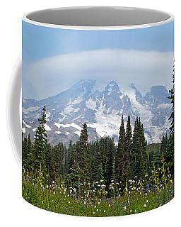 Cloud Capped Rainier Coffee Mug