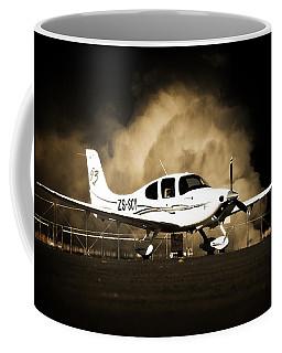 Cloud Cirrus Coffee Mug by Paul Job