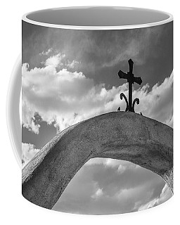 Cloud Cross Coffee Mug by Steven Bateson