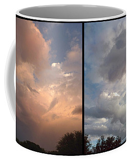 Cloud Diptych Coffee Mug