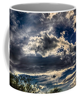 Coffee Mug featuring the photograph Cloud Drama by Mark Myhaver