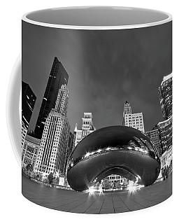 Cloud Gate And Skyline Coffee Mug by Adam Romanowicz