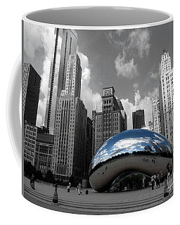 Cloud Gate B-w Chicago Coffee Mug
