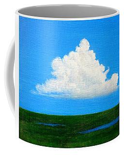 Cloud Over Wetlands Coffee Mug