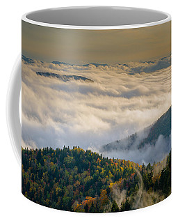 Coffee Mug featuring the photograph Cloud Valley by Serge Skiba
