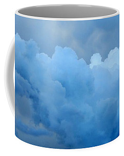 Clouds 2 Coffee Mug by Leanne Seymour