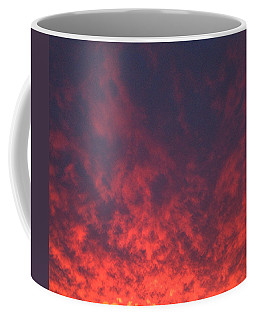 Clouds Ablaze Coffee Mug