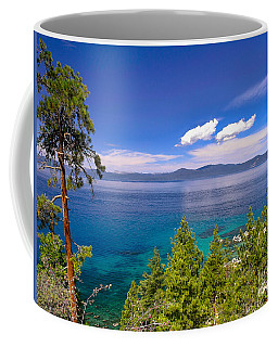 Clouds And Silence - Lake Tahoe Coffee Mug