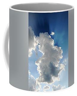 Clouds In The Sun Coffee Mug