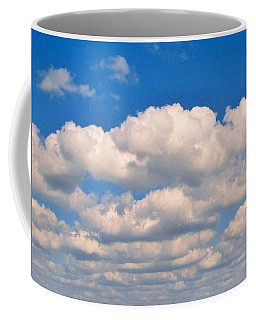 Clouds Over Lake Pontchartrain Coffee Mug by Deborah Lacoste