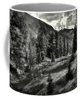 Clouds Over The Mountainscape Coffee Mug