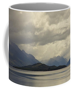 Coffee Mug featuring the photograph Clouds Over Wakatipu #2 by Stuart Litoff