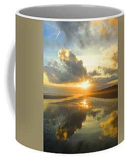 Clouds Reflection By Jan Marvin Coffee Mug