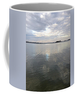 Cloudy Reflection Coffee Mug by M West