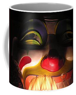 Clown In The Antique Shop Coffee Mug