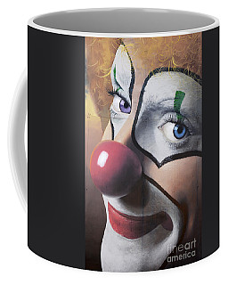 Clown Mural Coffee Mug by Bob Christopher
