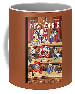 Fun And Games In Congress Coffee Mug