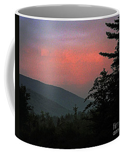 Clucks West Ossipee Mountain Sundown Coffee Mug